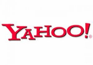 A red and white Yahoo image